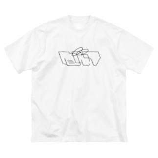 sinai Big silhouette T-shirts
