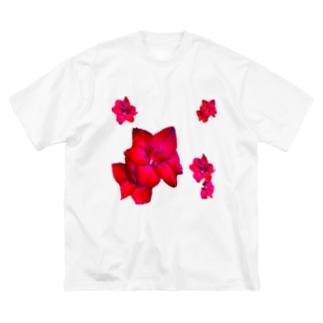 flowers Big silhouette T-shirts