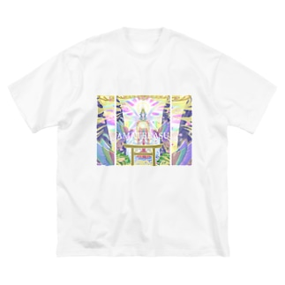 天照大神~AMATERASU~ Big silhouette T-shirts