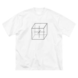 等方晶系 Big silhouette T-shirts