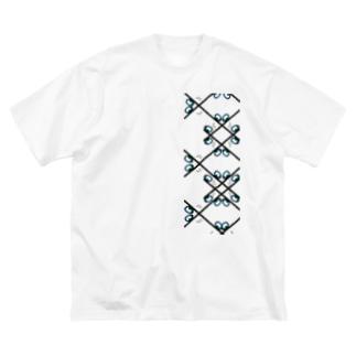 景色の宝石 Big silhouette T-shirts