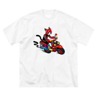 ジョイライダー Big silhouette T-shirts