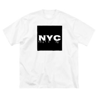 NYC melting Big silhouette T-shirts