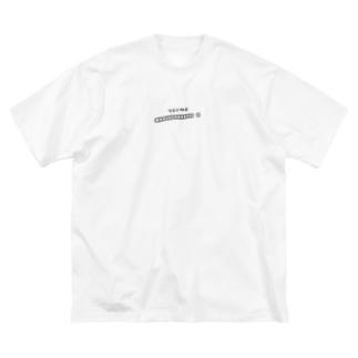 ツモ Big silhouette T-shirts