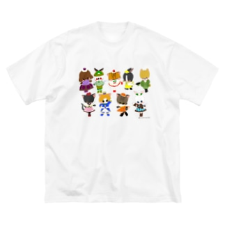 sweets☆animal Big silhouette T-shirts