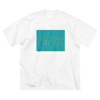 sketch Big silhouette T-shirts