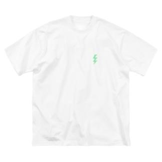 ショッキング稲妻⚡️ Big silhouette T-shirts