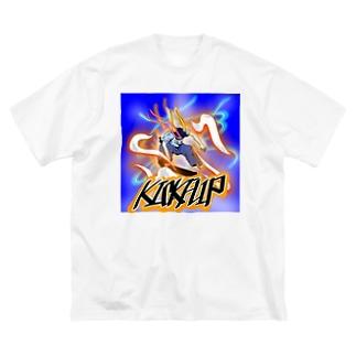 キックフリップ  Big silhouette T-shirts