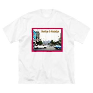 メキシコ:グアダルーペの風景写真 Mexico: Basílica de Guadalupe Big silhouette T-shirts