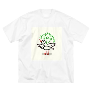 ゆるいーそー Big silhouette T-shirts