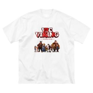 フラーケ族 Big silhouette T-shirts