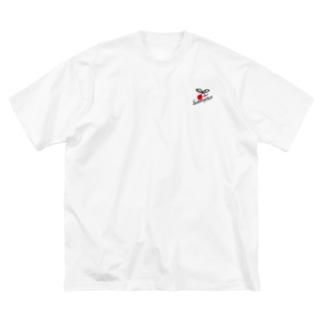 Sakuraphon Big silhouette T-shirts