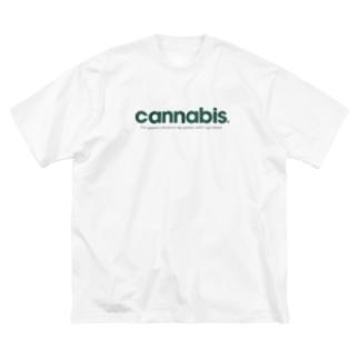カンナビス Big Silhouette T-Shirt