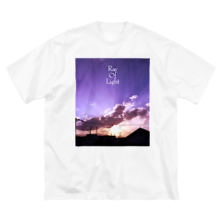 Ray Of Light-2 Big silhouette T-shirts