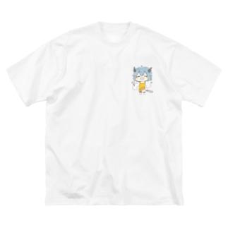 【213号室】一緒にご飯つくろー? Big Silhouette T-Shirt