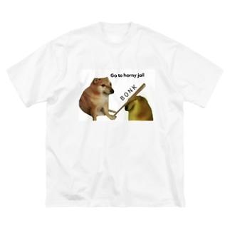B O N K Big silhouette T-shirts