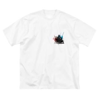 モードと幾何学 Big silhouette T-shirts