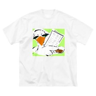 情報屋 トリさん Big silhouette T-shirts