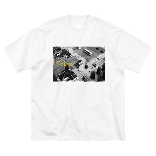 東京 Big silhouette T-shirts