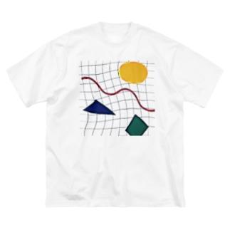 メンフィス  Big silhouette T-shirts