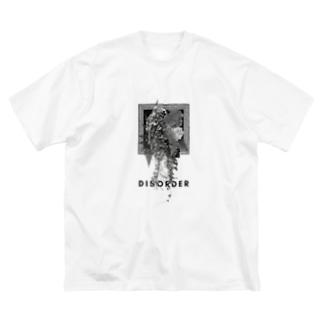 DISORDER(mono) Big silhouette T-shirts