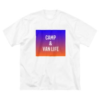 CAMP & VAN LIFE8 Big silhouette T-shirts