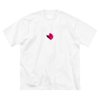 クローズドサークル Big silhouette T-shirts