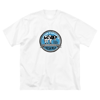 FRESH MILK フレッシュミルク Big Silhouette T-Shirt