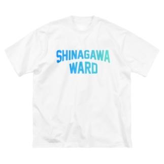 品川区 SHINAGAWA WARD Big silhouette T-shirts