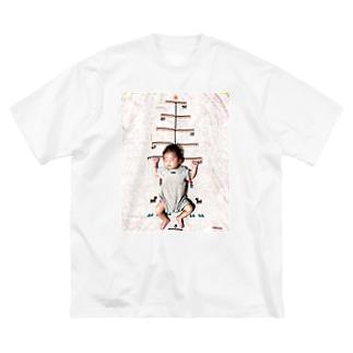 ひまちゃん Big silhouette T-shirts