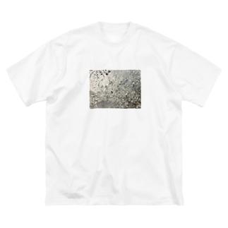 盤 Big silhouette T-shirts