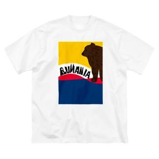 ルーマニア Big silhouette T-shirts