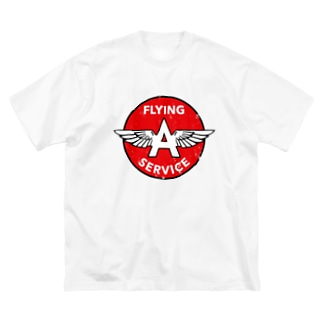 FLYING A SERVICE Big silhouette T-shirts
