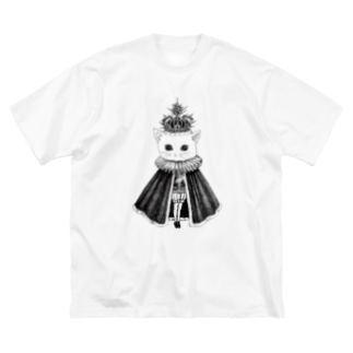 猫かぶり王子 Big silhouette T-shirts