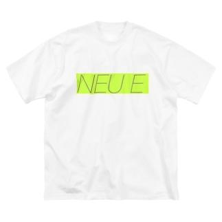NEUE Big silhouette T-shirts