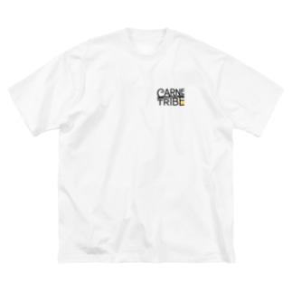 CarneTribe カラーロゴ ビッグTシャツ Big silhouette T-shirts