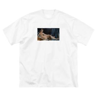 shibsのLa Grande Odalisque Big silhouette T-shirts