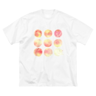 桃桃桃桃桃桃桃桃猫 Big silhouette T-shirts