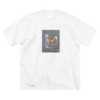 虎の仔2020 Big silhouette T-shirts