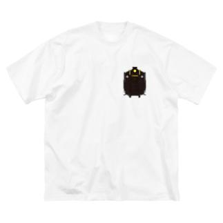 パレオエクスプレス ミニ Big silhouette T-shirts