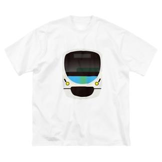 西武鉄道 スマイルトレイン Big silhouette T-shirts