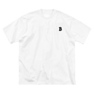 ₿ Big silhouette T-shirts