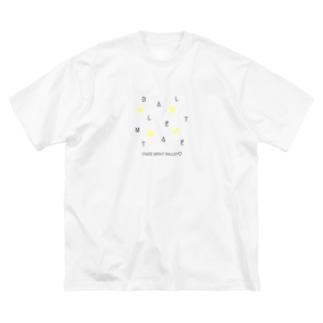 【黒文字】CRAZY-BM2020 Big silhouette T-shirts