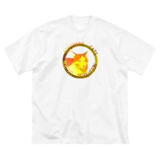 ORDINARY CATS05(秋) Big Silhouette T-Shirt