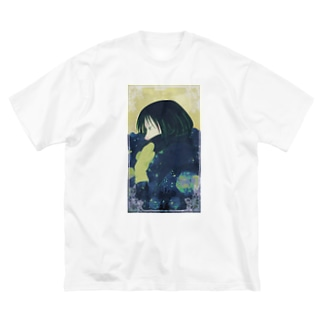 I'm not cold. Big silhouette T-shirts