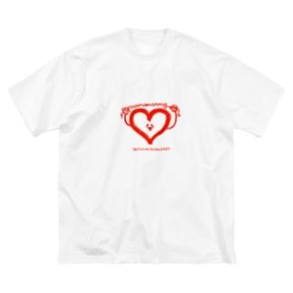 乳児院へクリスマスプレゼントを贈ろう🎁💕 Big silhouette T-shirts