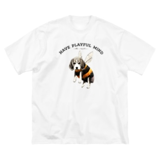 kei saitoのBee・gle Big silhouette T-shirts