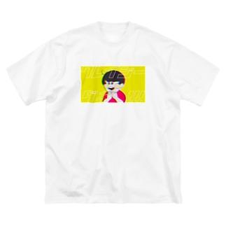 crazy boy. Big silhouette T-shirts