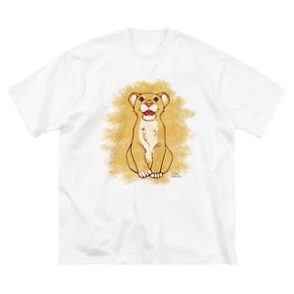 LION CUB Big silhouette T-shirts