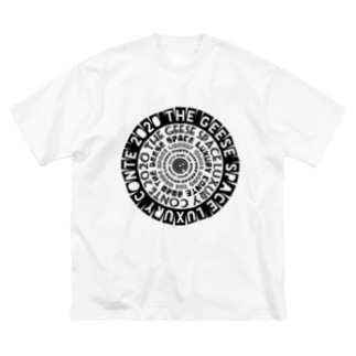 ザ・ギースSLC Tシャツwhite Big silhouette T-shirts